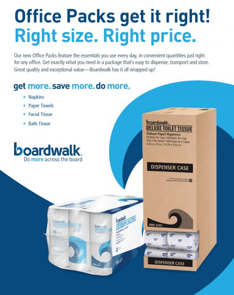 Boardwalk Office Packs: Right Fit. Right Price.