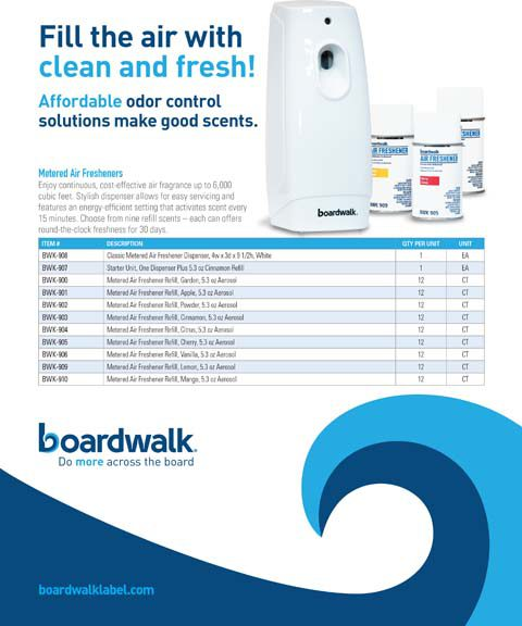 Boardwalk Odor Control Solutions: Air Care for a Fresher Difference