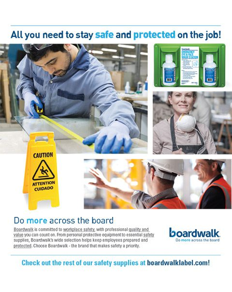 Boardwalk: Safety Products Are Here