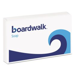 Boardwalk® Face and Body Soap, Paper Wrapped, Floral Fragrance, # 3 Soap Bar, 144/Carton
